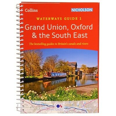 Nicholson Waterways Guides 1 to 7 Narrowboat / Canal Guides / Books