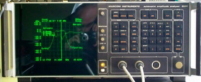 Aeroflex Marconi 6500 Automatic Network Amplitude Analyzer with detectors