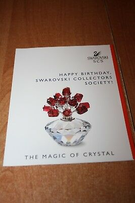 Swarovski Broschüre Happy Birthday The Magic of Crystal SCS