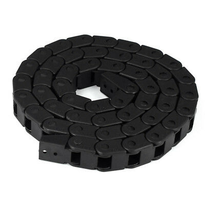 1Meter Nylon Energy Chain 7x7 10x10 Black Drag Cable Wire Carrier For 3D Printer