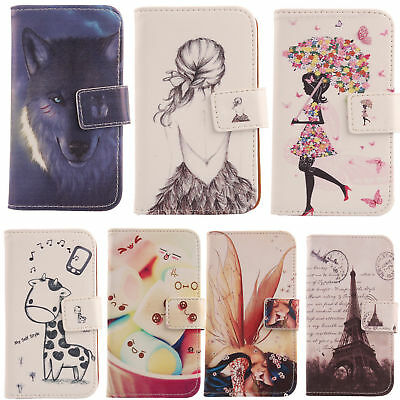 For Elephone/Archos - Phone Cover Book Wallet Folder Flip Folio PU Leather Case