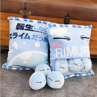 That Time I Got Reincarnated as a Slime Tempest Rimuru Cute Pillow Toy Doll Gift