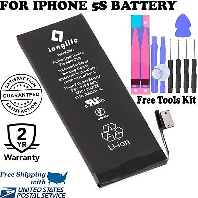 1560mAh for iPhone 5S/5C Li-ion Internal Battery Replacement w/ Flex Cable
