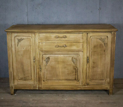 Original Vintage French Sideboard/drawers, Antique, Rare