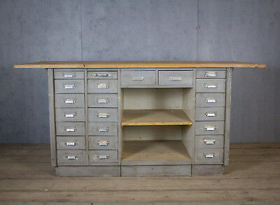 Antique, French Haberdashery Counter/display, Cupboard