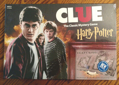 Clue Harry Potter Special Edition Classic Mystery Board Game USAopoly NEW!