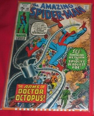 Amazing_ Spider Man _88# Sept 70 The Arms Of Doc Octopus !