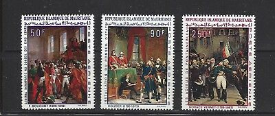Mauritania - C81-C83 - Mnh - 1969 - Paintings For 200Th Ann Of Napoleon's Birth