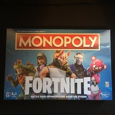 Hasbro Fortnite Monopoly Board Game Brand New And Sealed Perfect