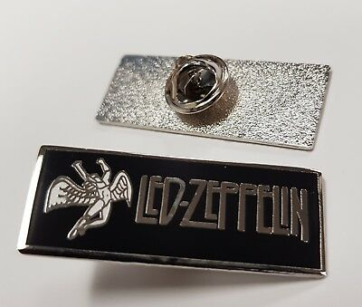 Led Zeppelin Swan Song Enamel Pin Badge