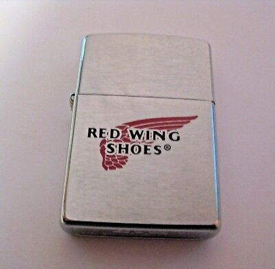 Unfired 1999 Red Wing Shoes Advertising Zippo Lighter ~ See All Of Our Zippos !!