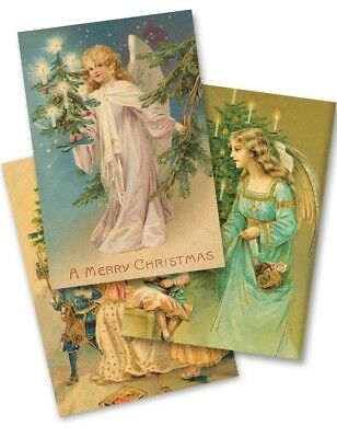 The Victorian Trading Co Charming Angels Holiday Christmas Cards (Pkg Of 15)