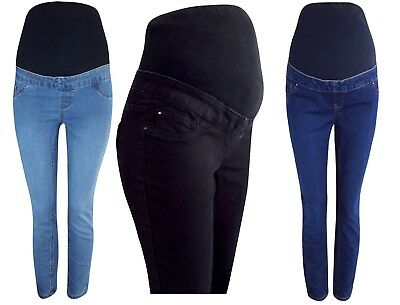 NEW LOOK Over Bump Maternity Jeans Skinny Jeggings Size 8,10,12,14,16,18