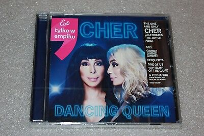 Cher - Dancing Queen CD POLISH STICKERS