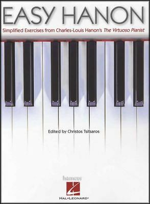 Easy Hanon Piano Simplified Exercises from The Virtuoso Pianist Music Book