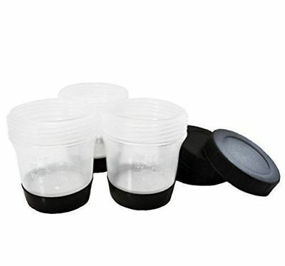 MaxiMist Aura Allure SatinAire Standard Gun, Wide Mouth, Black Bottom, 3Cup Set