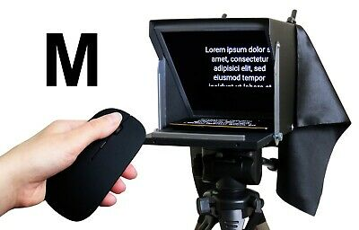 Teleprompter Black Fish L. Compact prompter 10'' for iPhone and Smartphone