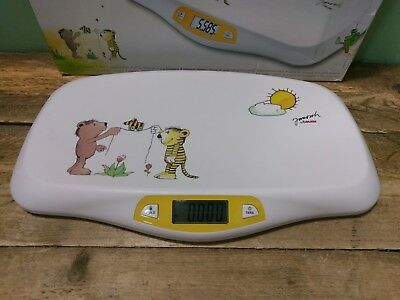 Janosch by Beurer Baby Scale  - Hold Function - Bear & Tiger Theme - Boxed 6E
