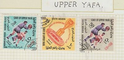 UPPER YAFFA Collection 1966 World Cup London USED as per scan  #