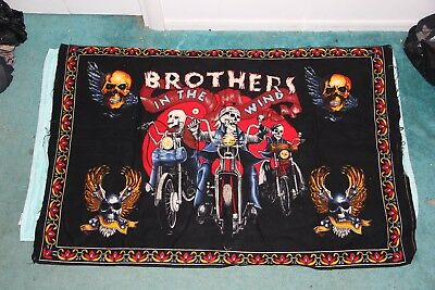 Motorcycle Tapestry  Brothers in the Wind Harley Davidson Easyrider David Mann