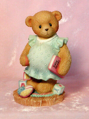 1998 CHERISHED TEDDIES MOTHER BEAR Anxiously Awaiting the Arrival BABY #476978