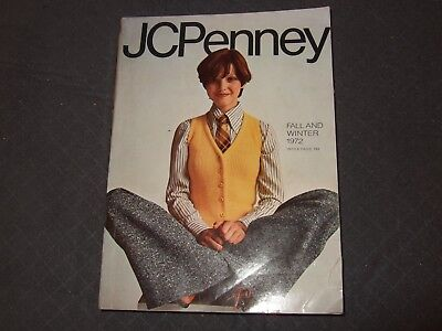 1972 JC Penney Fall & Winter Catalog-1295 Pages Retro Fashions Housewares-NICE