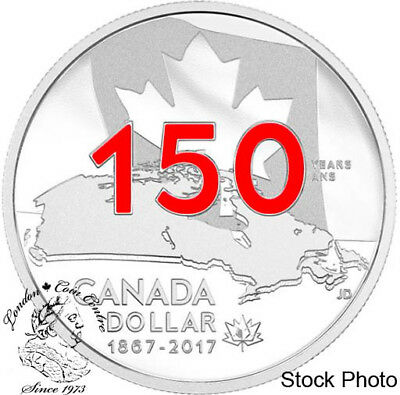 Canada 2017 $1 Proof Enameled Our Home & Native Land Silver Dollar Coin