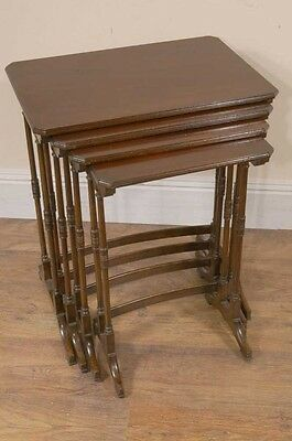 Antique Nest Tables - Edwardian Mahogany  Side Table