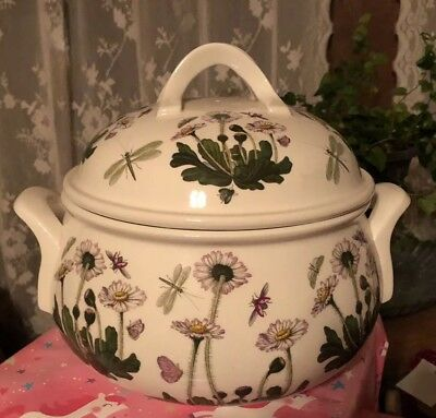 Portmeirion Botanic Garden 2.5 Quart Round Covered Casserole or Soup Tureen