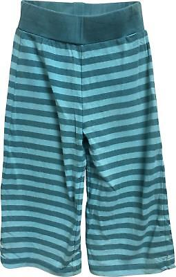 PRE-OWNED Girls Mini Mode Blue Pattern Trousers Size 1.5-2 Yrs