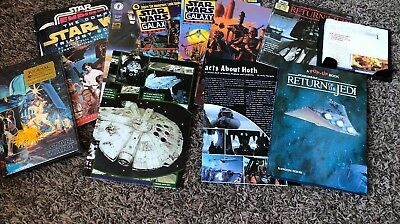 Black Friday Huge Lot Star Wars Books, Posters, Extras Galaxy, Topps, Pop-up,