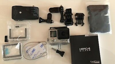 GoPro Hero4  - Silver with Accessories