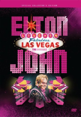 elton john-live in las vegas (UK IMPORT) DVD NEW