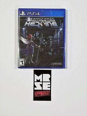 Cosmic Star Heroine Limited Run Games #144 for PS4 (Sony PlayStation 4) New