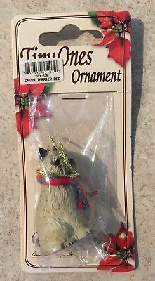 Cairn Terrier Red Ornament Mini Dog Tiny Ones by Conversation Concepts New