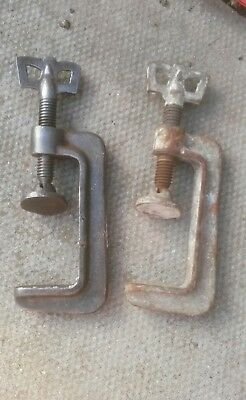 Vintage Small G Clamps