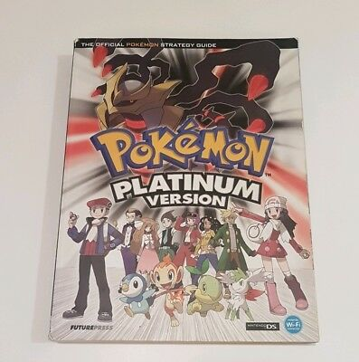 Pokemon Platinum Official Strategy Guide Collection Book