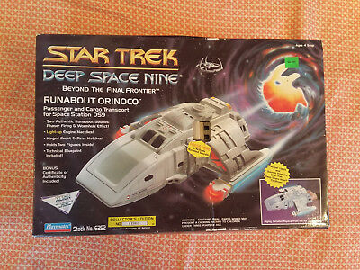 star trek playmates deep space nine runabout orincoco collecters edition