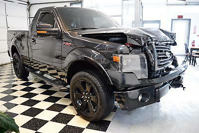 2014 Ford F-150 FX4 FX4 Tremor 2014 Ford F-150 FX4 Tremor Rebuildable Truck Repairable Damaged Wrecked