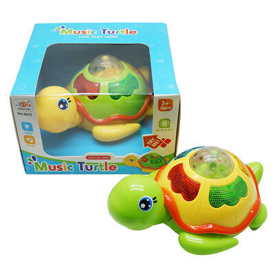 Turtle Toy Baby Kids Activity Musical Animal  Development Toddler