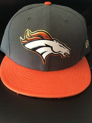 f2d2e3678 NFL DENVER BRONCOS New Era 50th Super Bowl Champ 59Fifty Fitted Hat ...
