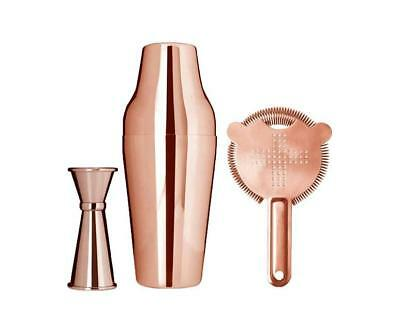 Cocktail Essentials Copper Bar Kit