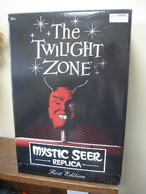 The Twilight Zone Mystic Seer Replica, First Edition RED Original Box and Cards!