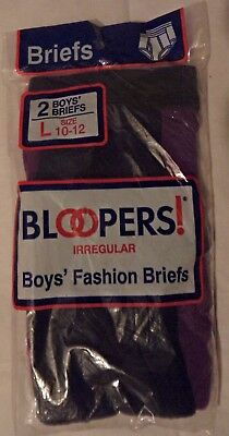 1 rare 1998 2 pack boys size Large 10-12 fruit of the loom bloopers briefs