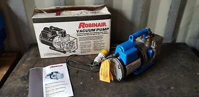 Robinair Vacuum Pump 15401 High Performance 110v or 220v A/C Refrigeration