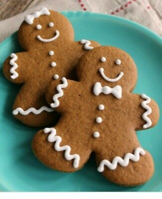 Gingerbread Man cookies Homemade 2 dozen made with love Christmas favorites