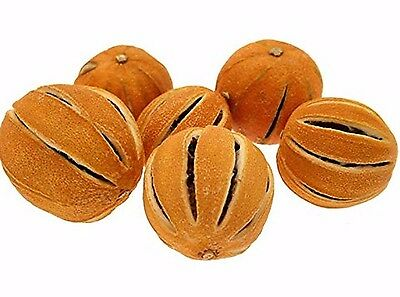 Dried Whole Oranges - Aromatic and Great for wreaths & potpourri.  Pk 5 or 250g