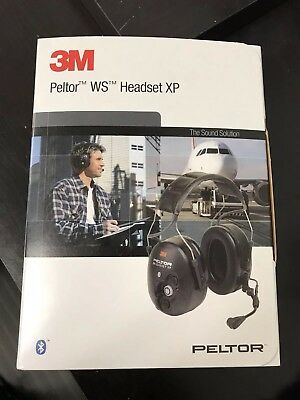 3M PELTOR WS Communications Wireless Headset XP MT53H7AWS5, Headband, Black