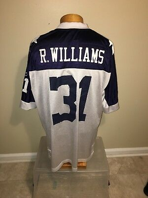 Roy Williams  31 Jersey Dallas Cowboys Nfl Reebok Throwbacks Size Xl  Oklahoma 0eff9e70a