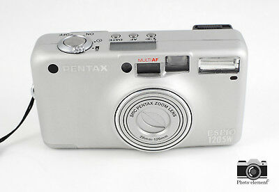 Pentax Espio 120SW 120 SW 35mm Compact Film Camera - Film Tested